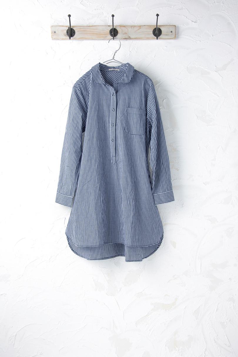チュニックシャツ(製品洗い)