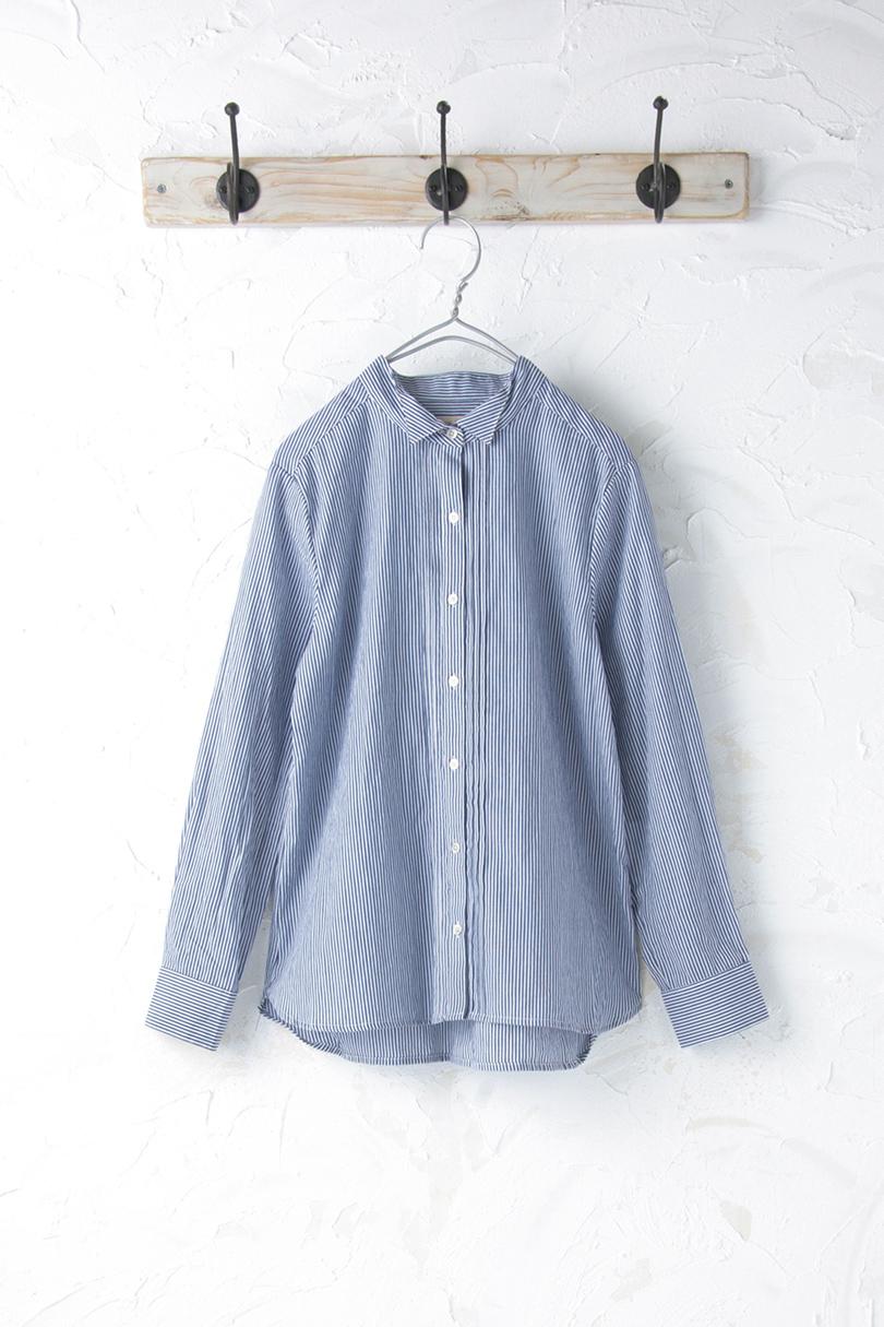ピンタックシャツ(製品洗い)