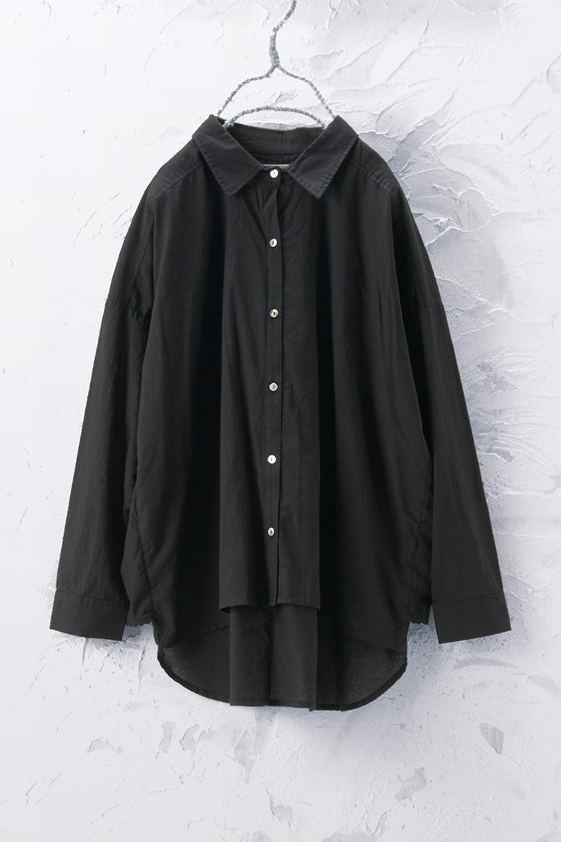 バックレイヤードシャツ(製品洗い)