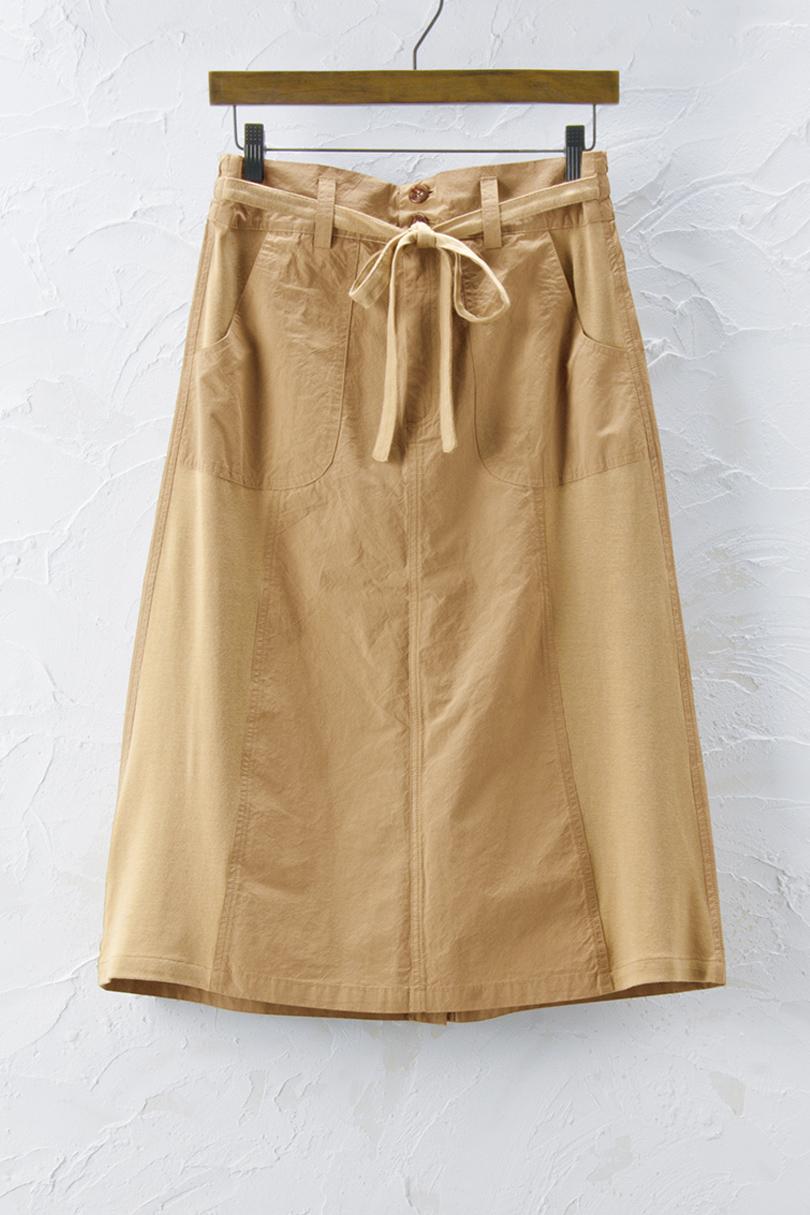 異素材切替えスカート(製品洗い)