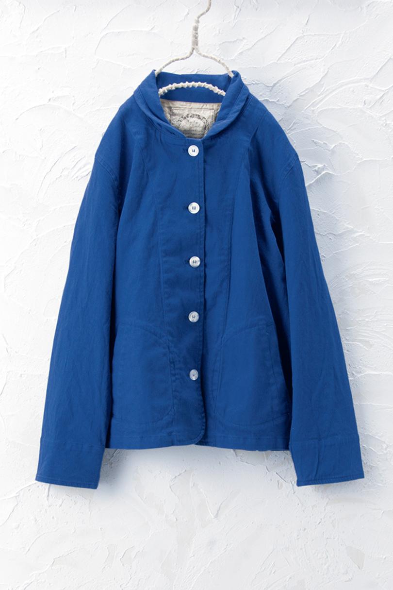 丸衿ジャケット(製品洗い)