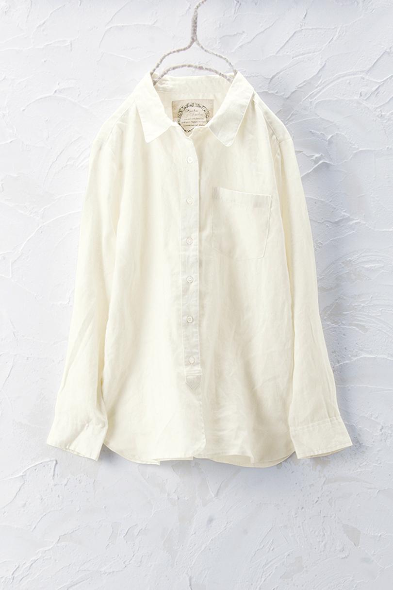 リネンシャツ(製品洗い)
