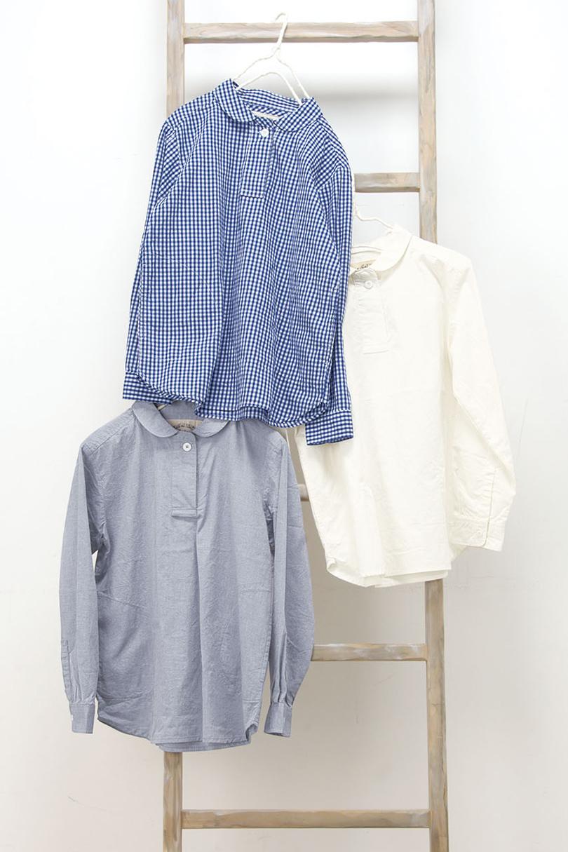 丸衿プルオーバー(製品洗い)