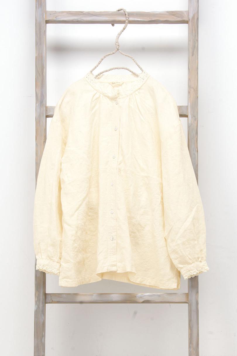 レース衿ブラウス(製品洗い)