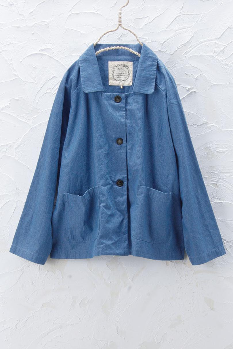 デニムジャケット(製品洗い)