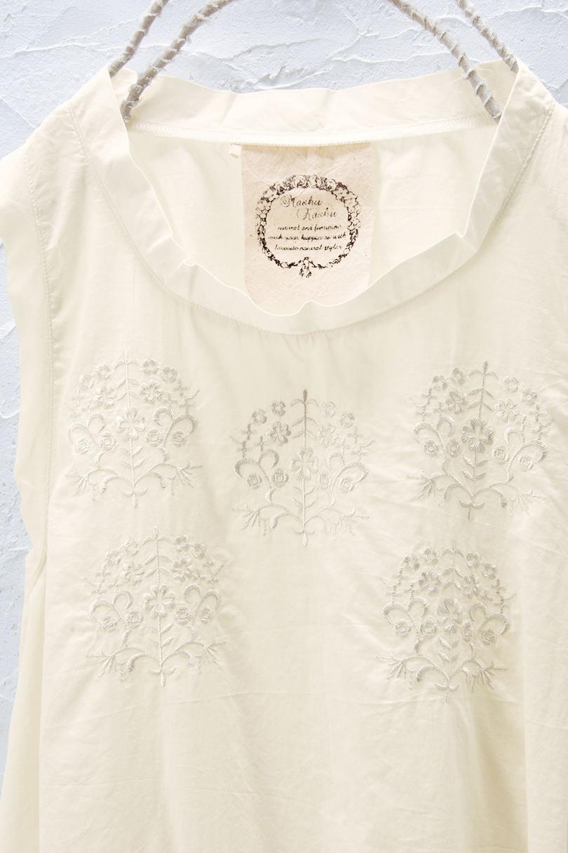 刺繍チュニック(製品洗い)