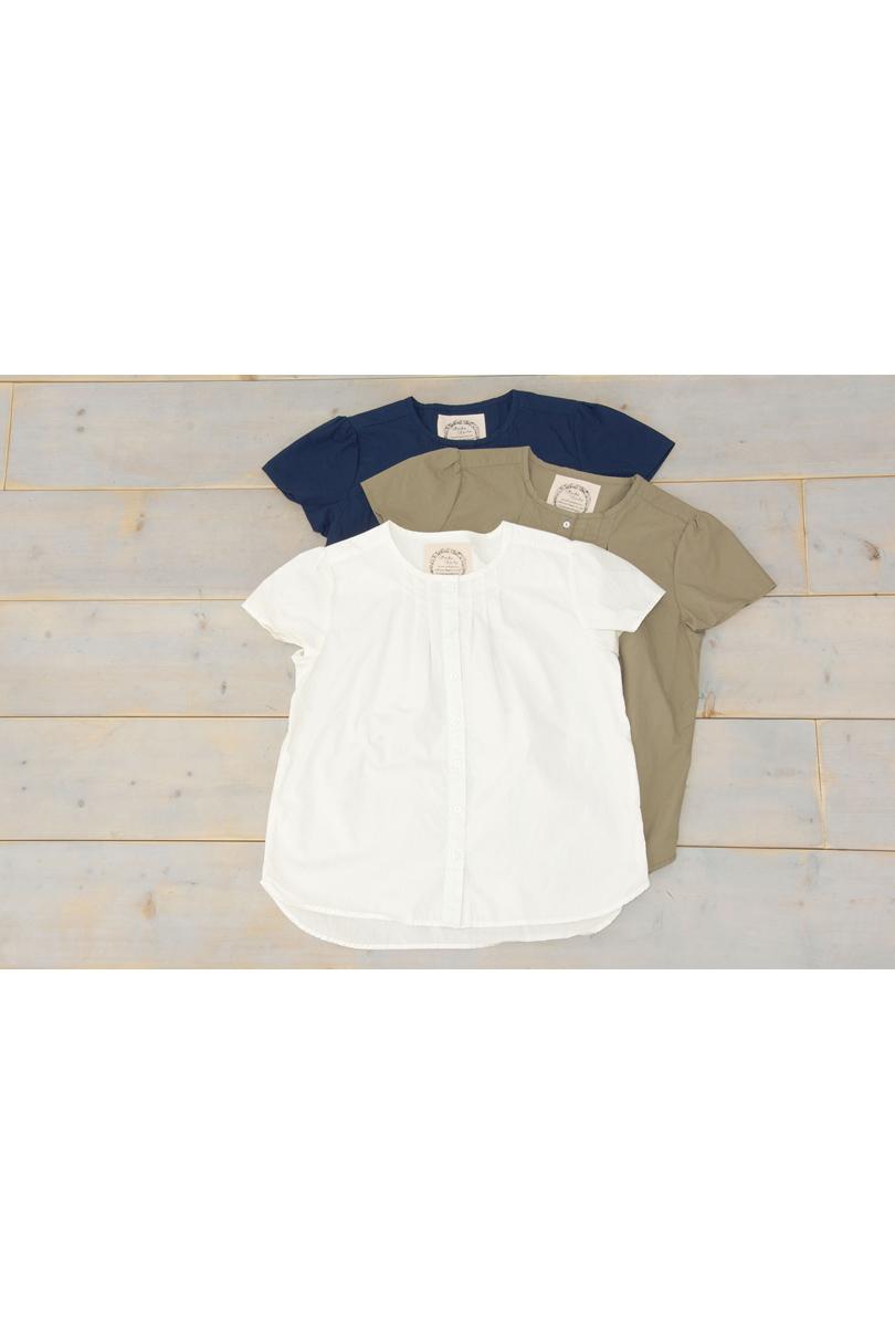 パフスリーブシャツ(製品洗い)