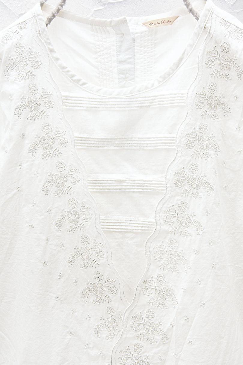 刺繍ブラウス(製品洗い)