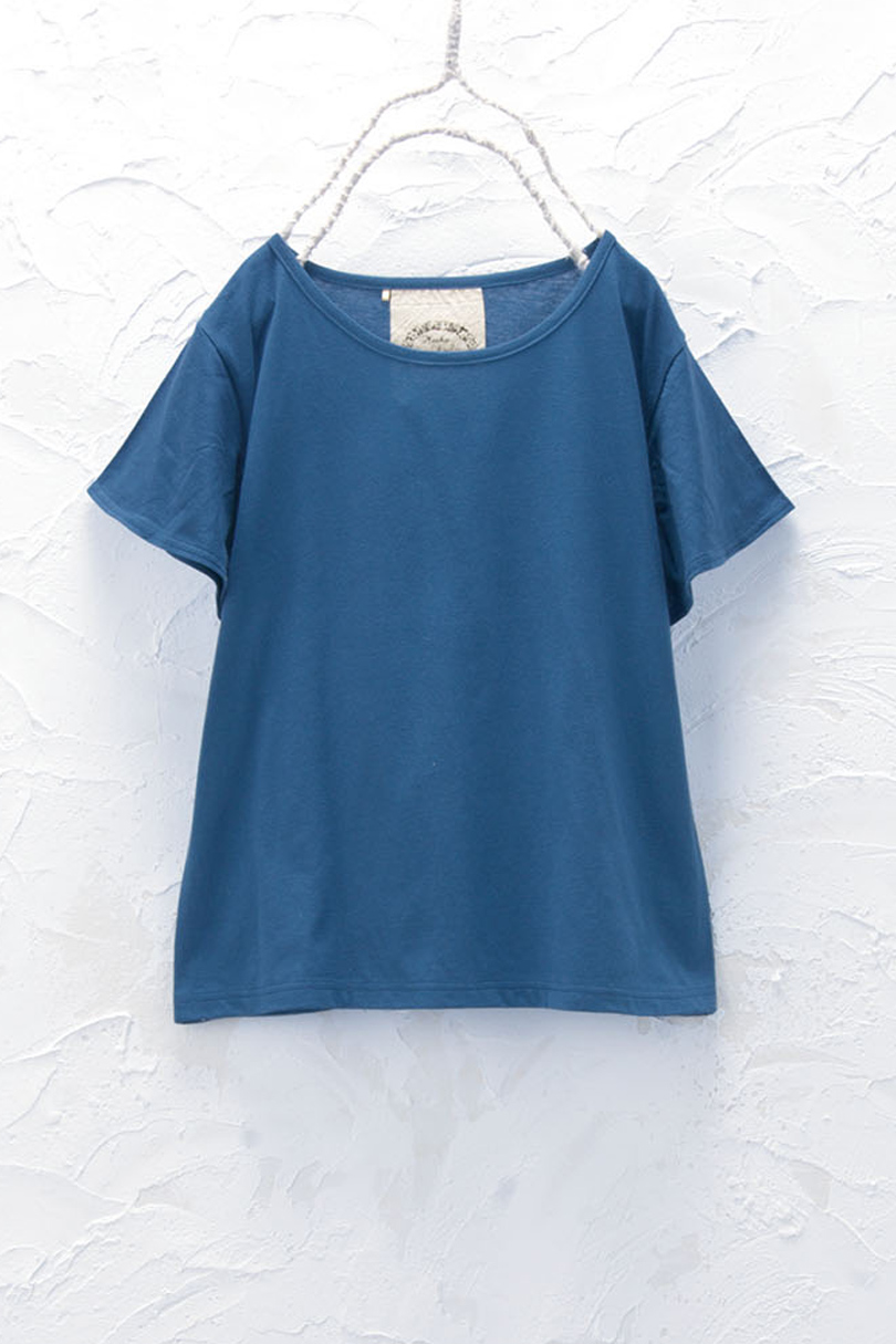 フレアスリーブTシャツ