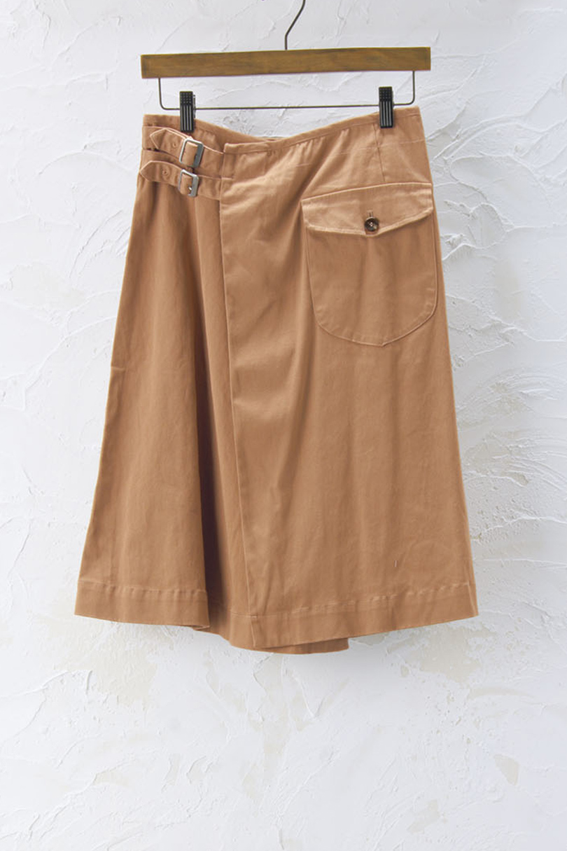 ラップスカート(製品洗い)