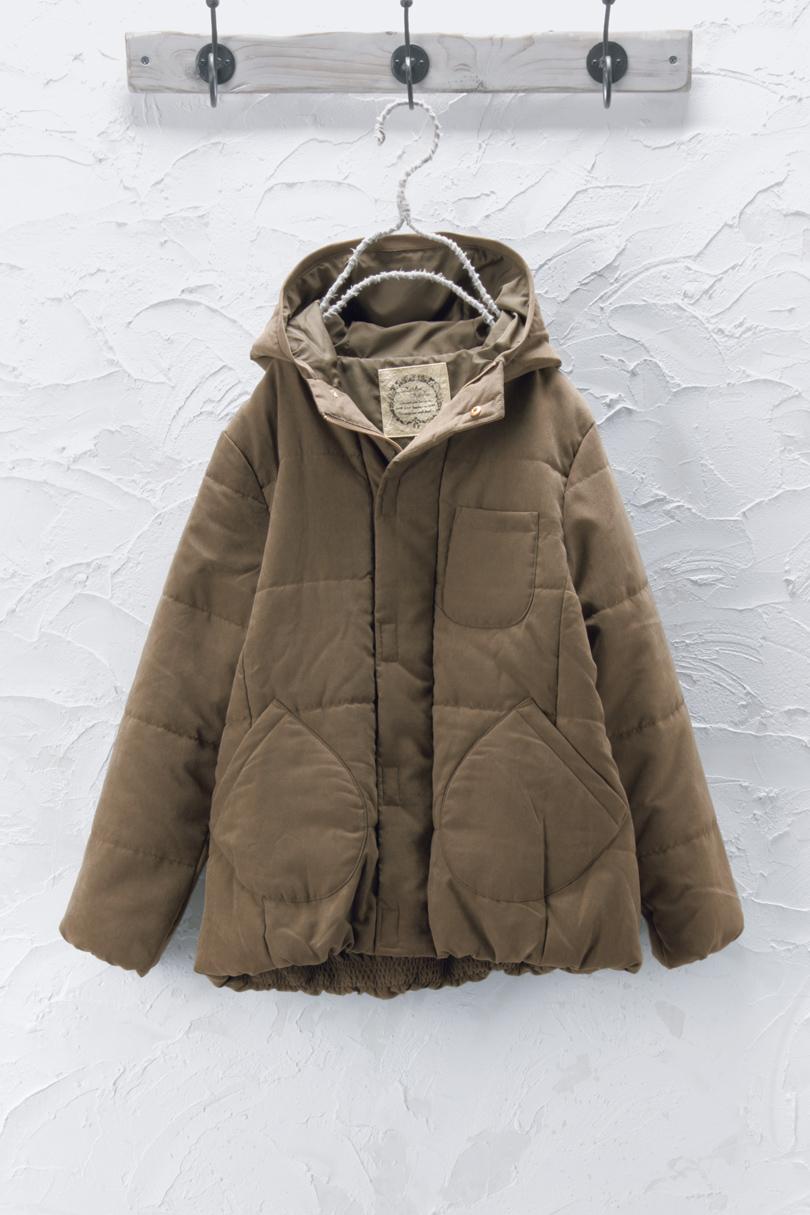 中綿入りコート