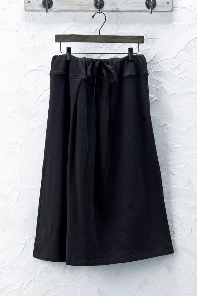 裏毛ロングスカート