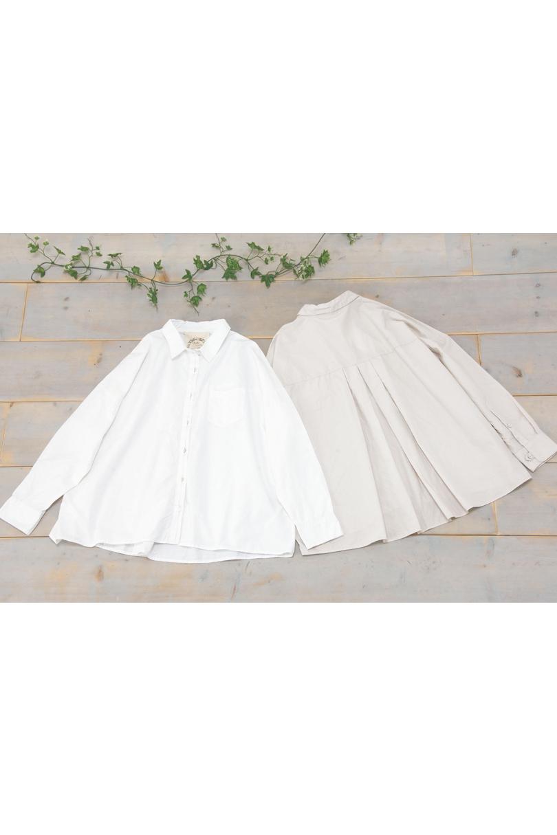 バックポイントシャツ(製品洗い)