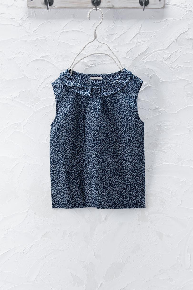 衿付きノースリーブ(01・03:製品洗い)
