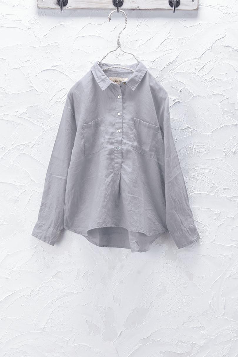 プルオーバーシャツ(製品洗い)