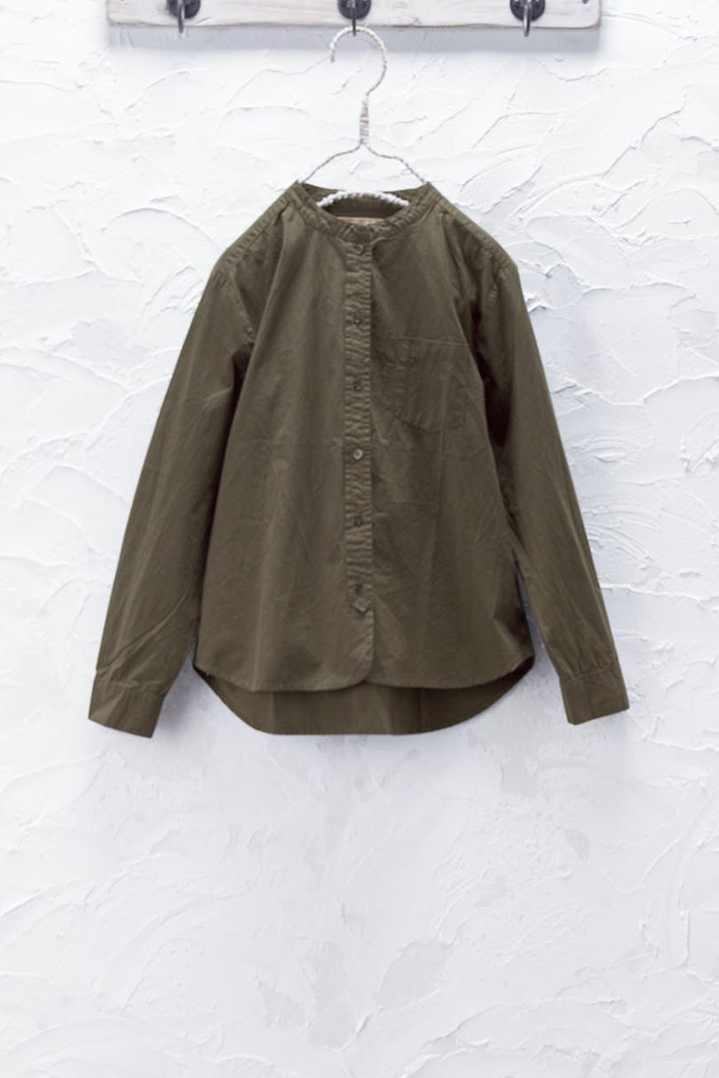 スタンドカラーシャツ(製品洗い)