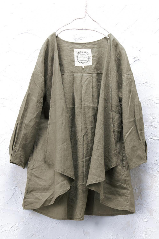 リネン羽織り(製品洗い)
