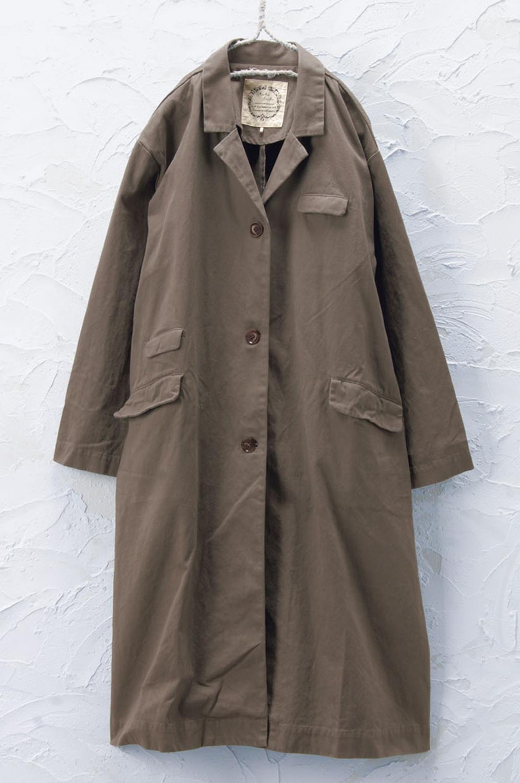 ロングコート(製品洗い)