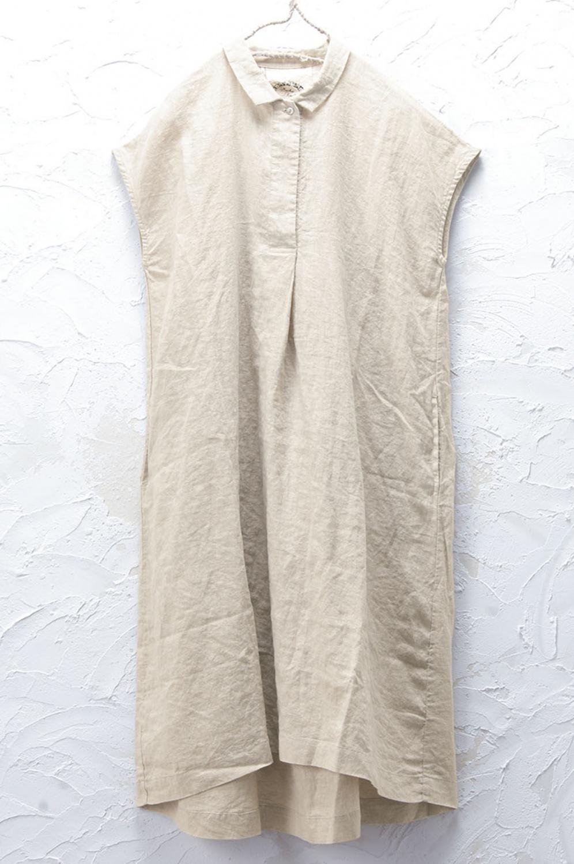 衿付きワンピース(製品洗い)