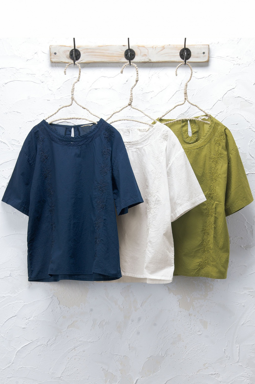 刺繍プルオーバー(製品洗い)