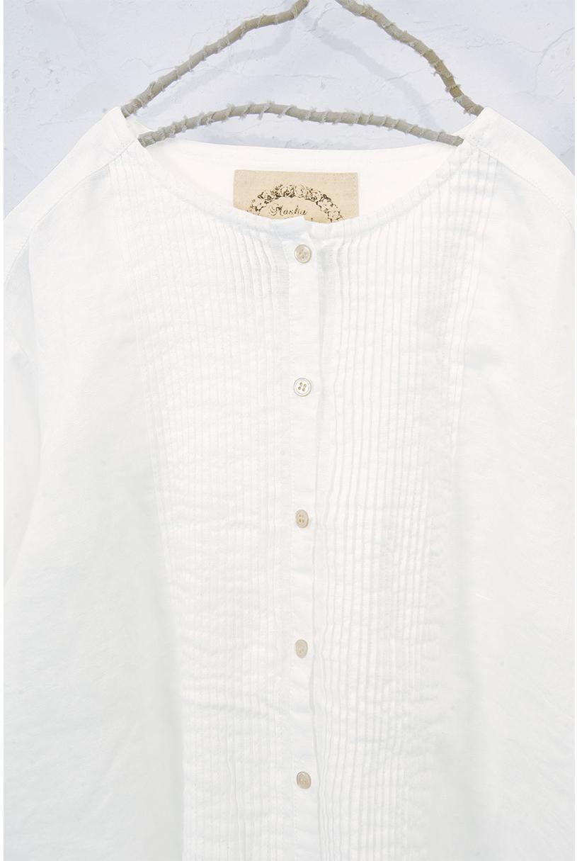 ピンタックシャツ(製品洗い)<br>□JCF-0804