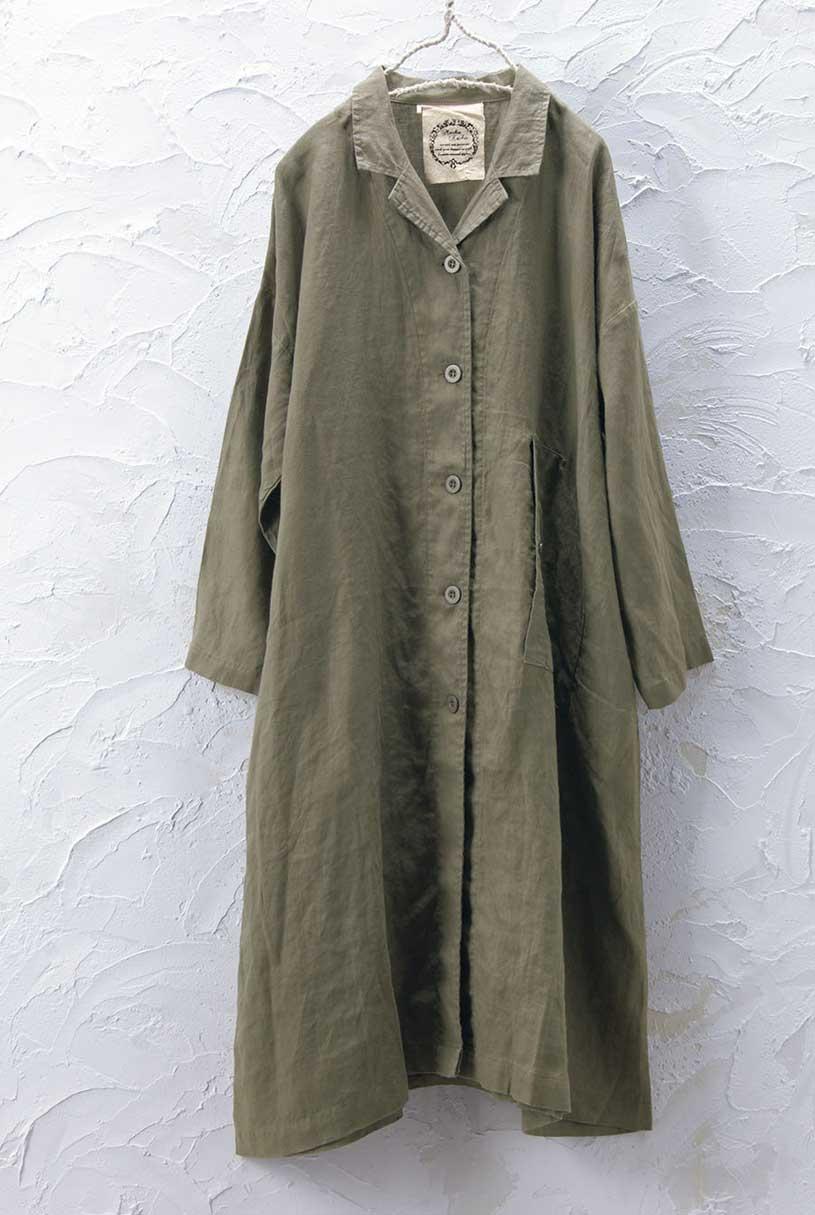 リネンコート(製品洗い)<br>□JCF-0901