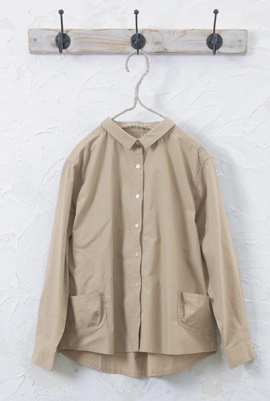 コットンシャツ<br />□JCF-1002
