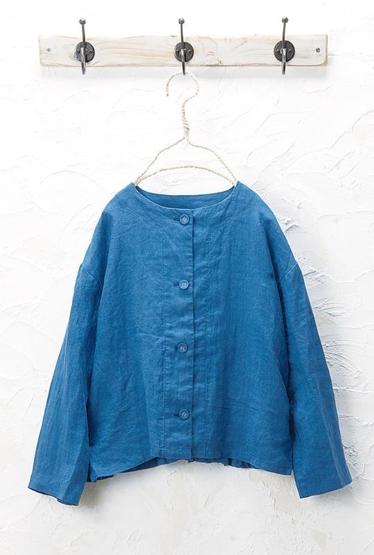 バックポイントジャケット(製品洗い)<br>□JCF-0324