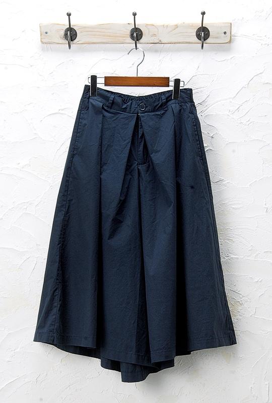 タックキュロット(製品洗い)<br />□JCF-0329