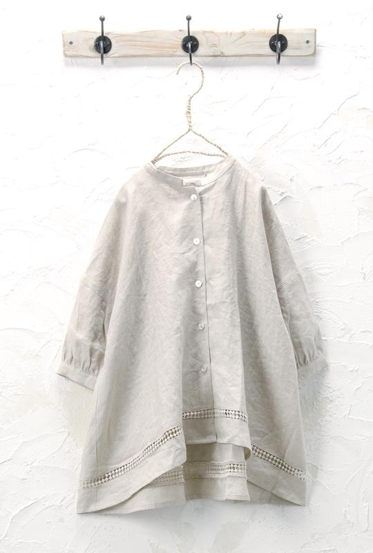 フレアー羽織り(製品洗い)<br />□KCF-0428