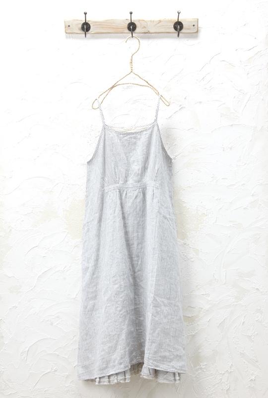キャミワンピース(製品洗い)<br />□KMF-0409