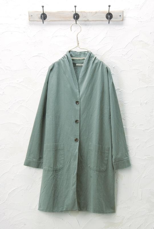 ショールカラーコート<br />□JCF-0331