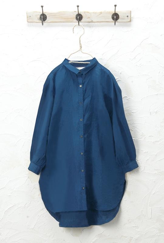 シャツチュニック(製品洗い)<br />□JCF-0323