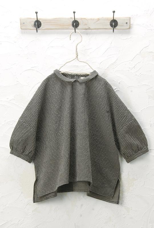 丸衿プルオーバー(製品洗い)<br />□JCF-0320