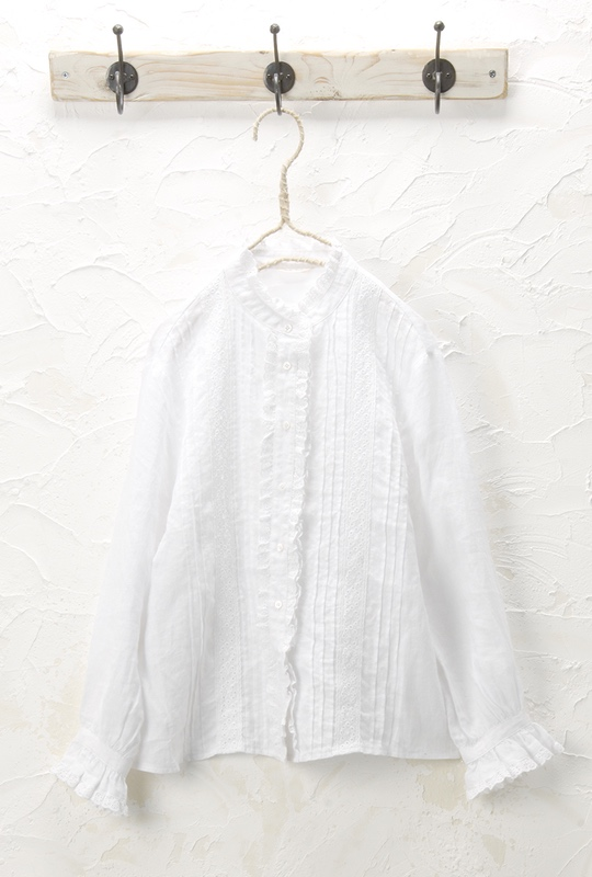 レースブラウス(製品洗い)<br />□JMF-0306