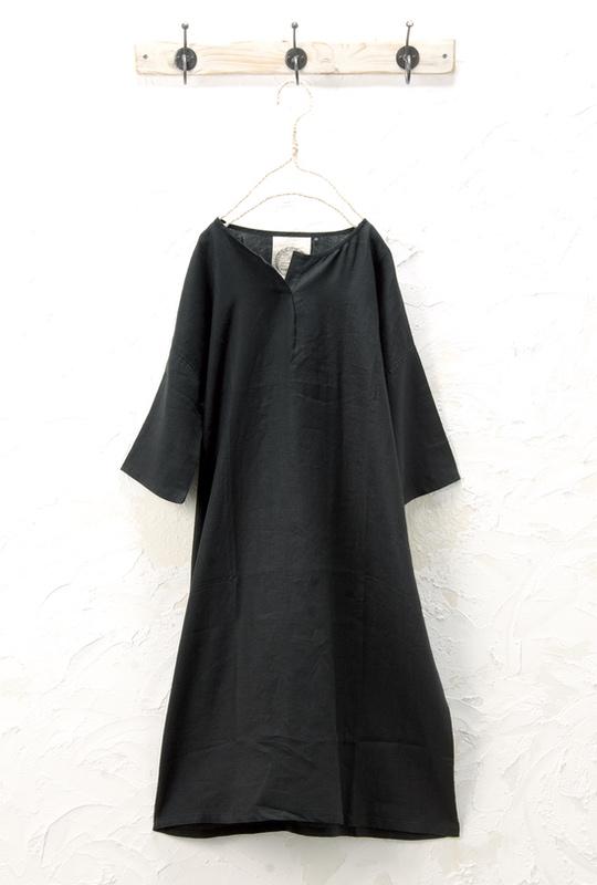 コクーンワンピース(製品洗い)<br />□KMF-0404