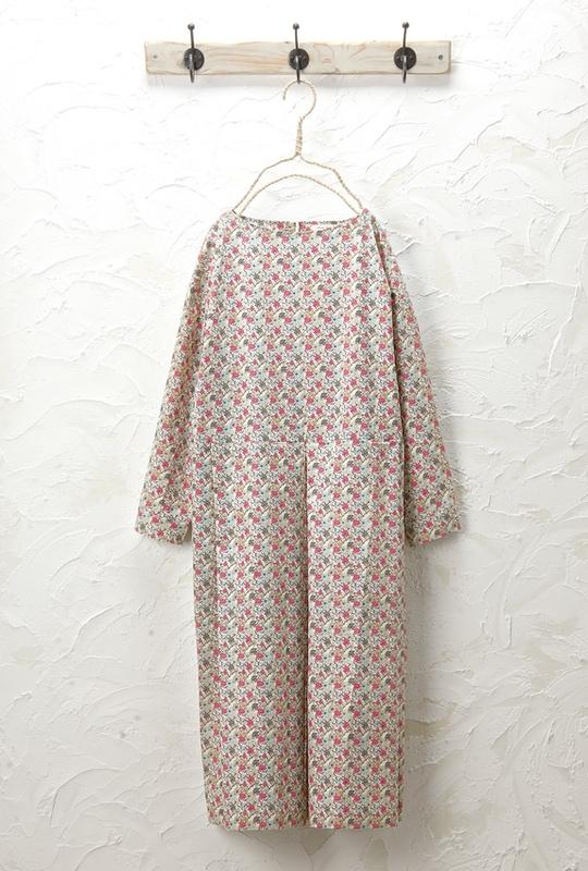 花柄ワンピース<br>□JCF-0317