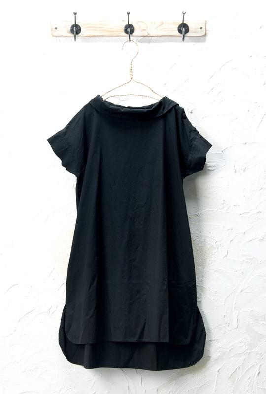 衿ポイントチュニック(製品洗い)<br />□KCF-0424