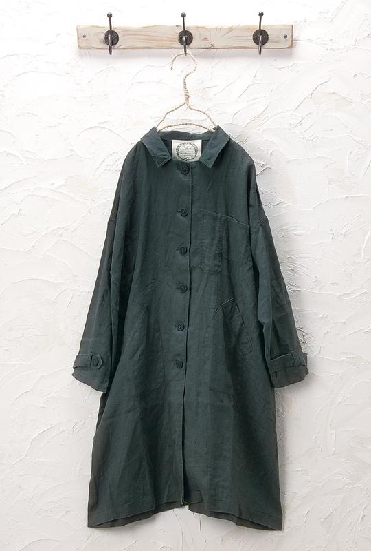 リネンコート(製品洗い)<br />□JMF-0301