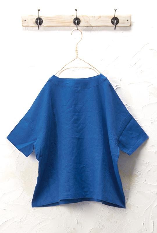 ワイドプルオーバー(製品洗い)<br>□KMF-0405