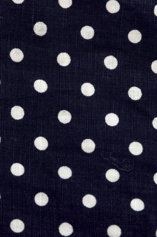 ドットブラウス(製品洗い)<br />□KMF-0509