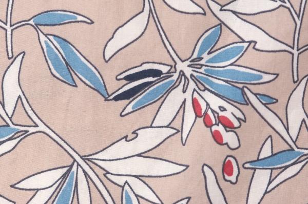 花柄ノースリーブワンピース<br />□KCF-0517