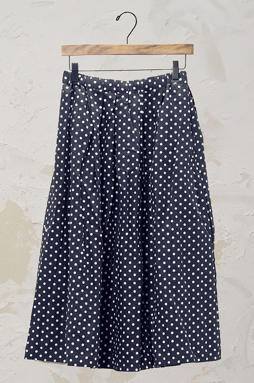 ドットスカート(製品洗い)<br />□KMF-0510