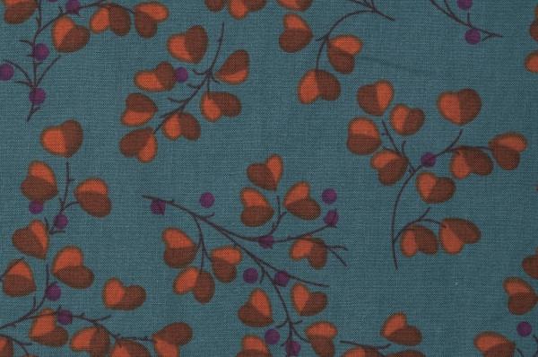 花柄ブラウス(製品洗い)<br />□KCF-0816