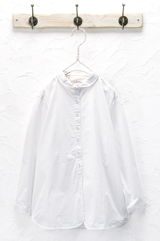 丸衿シャツ(製品洗い)<br />□KMF-0806