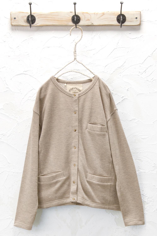 裏毛カーディガン<br />□KCN-0916