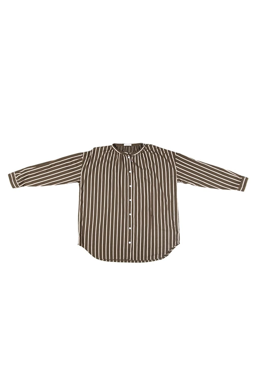ストライプシャツ<br />□KCF-1018