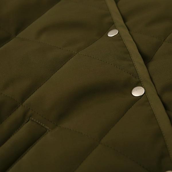 中綿キルトジャケット<br />□KMF-1108