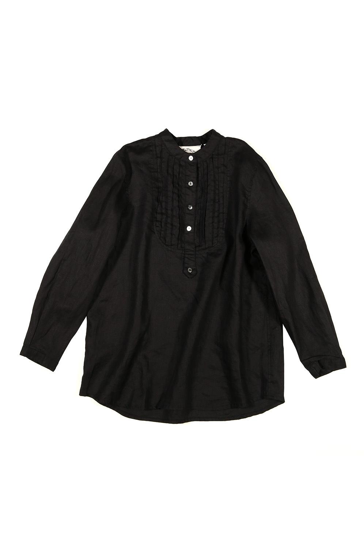 ピンタックシャツ<br />□KMF-1103