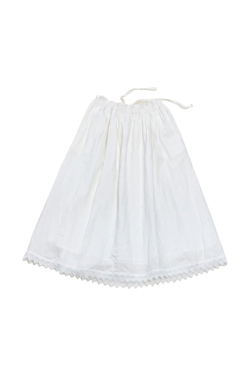 裾レーススカート<br />□KMF-0205